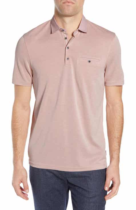 24a1938e Ted Baker London Oven Slim Fit Soft Touch Piqué Polo