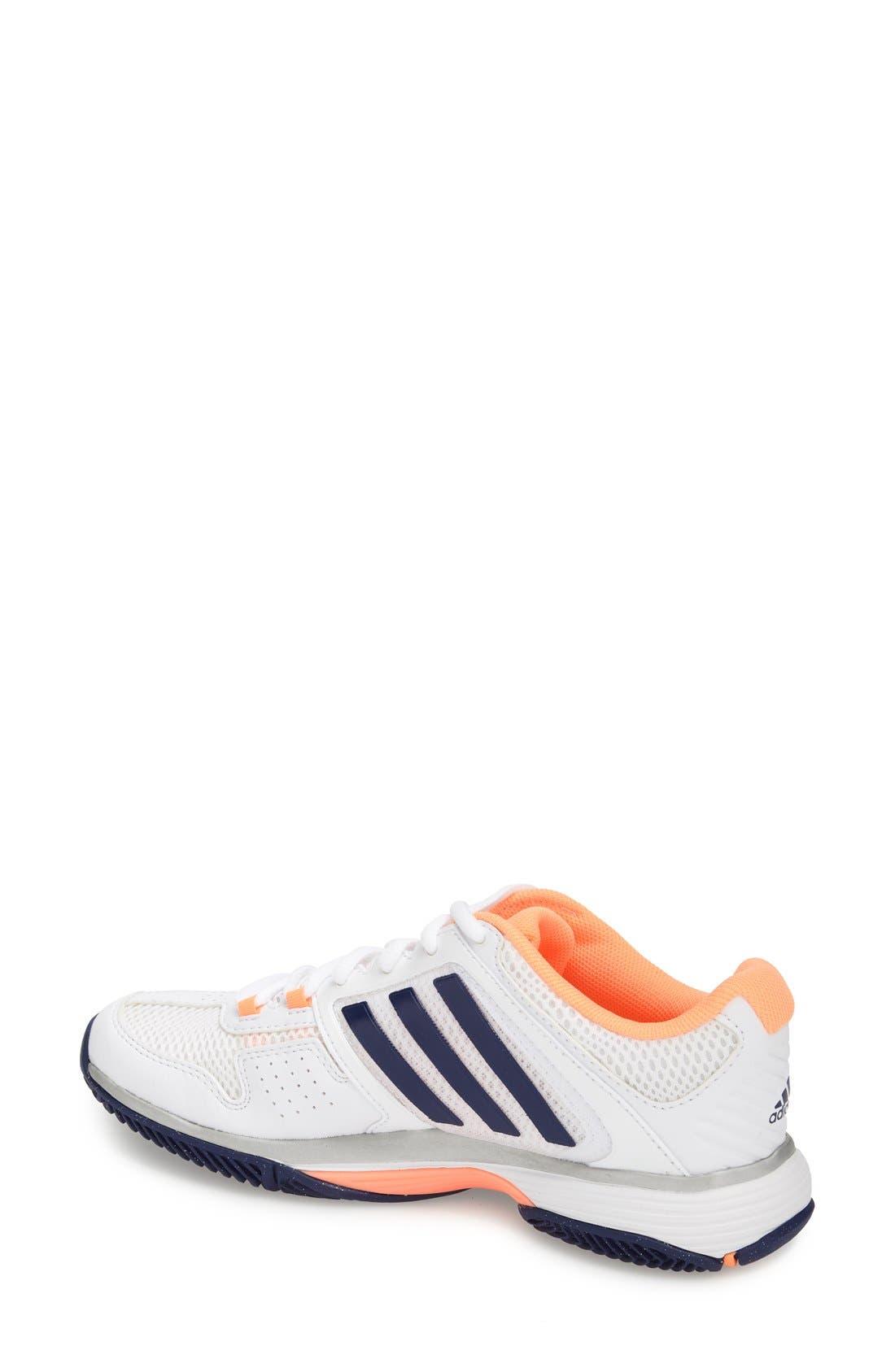 Alternate Image 2  - adidas 'adiPower Barricade Team 4' Tennis Shoe (Women)