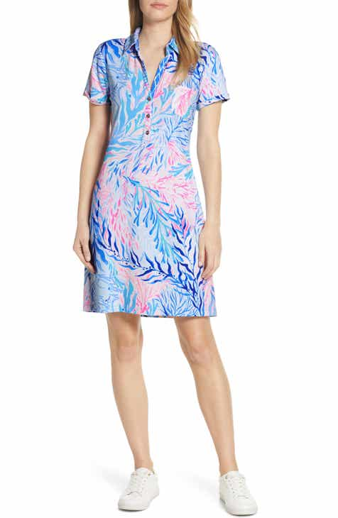 Lilly Pulitzer® Sadie UPF 50+ Polo Dress