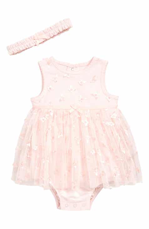 003f54c8ea9 Little Me Butterfly Skirted Bodysuit   Headband Set (Baby)