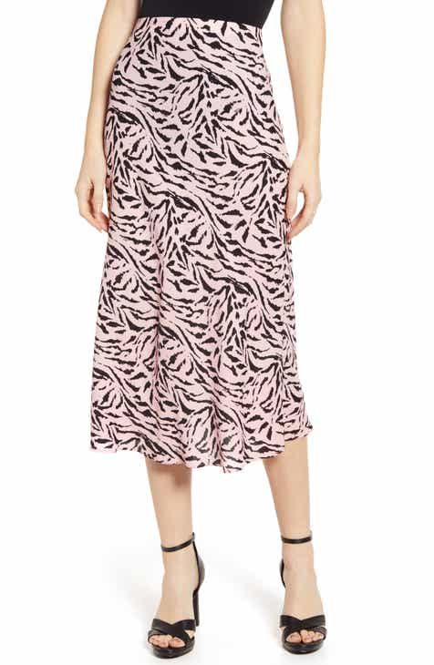 Co Cinch Waist Midi Circle Skirt by CO
