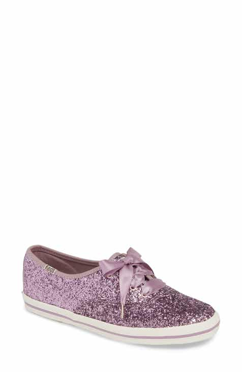23582ddae33 Keds® for kate spade new york glitter sneaker (Women)