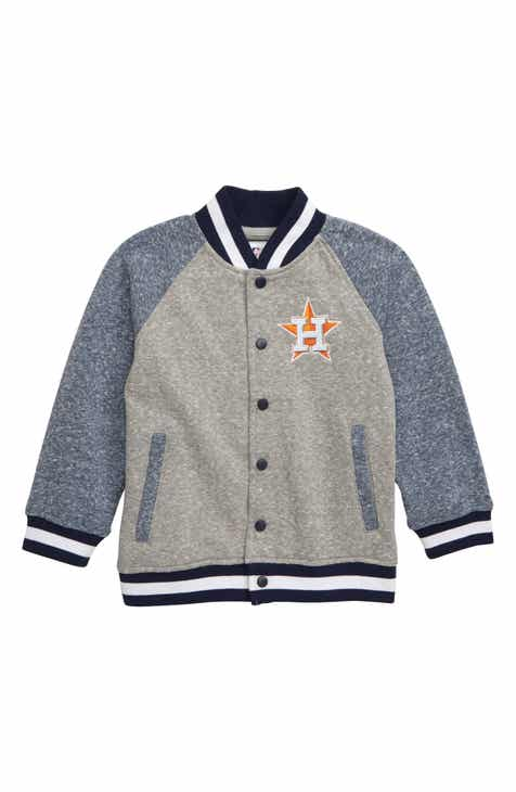 Majestic MLB Houston Astros Pride Fleece Bomber Jacket (Toddler Boys) 72a496934