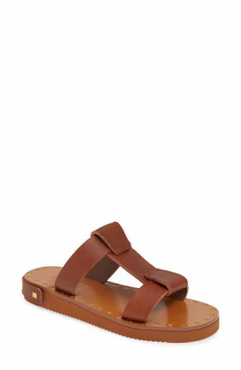 1164800c604624 VALENTINO GARAVANI Feather Slide Sandal (Women)