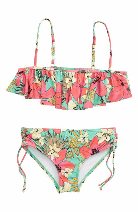 8ee91b36f Billabong Aloha Sun Flutter Two-Piece Swimsuit (Little Girls   Big Girls)