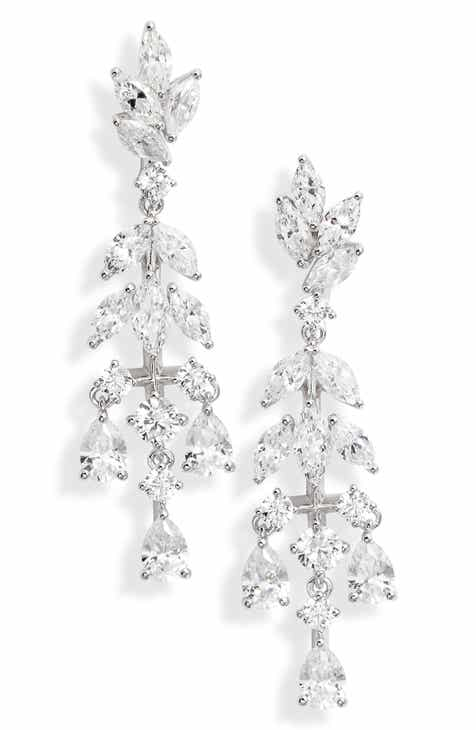 d2156c14d Nadri Bouquet Small Chandelier Earrings