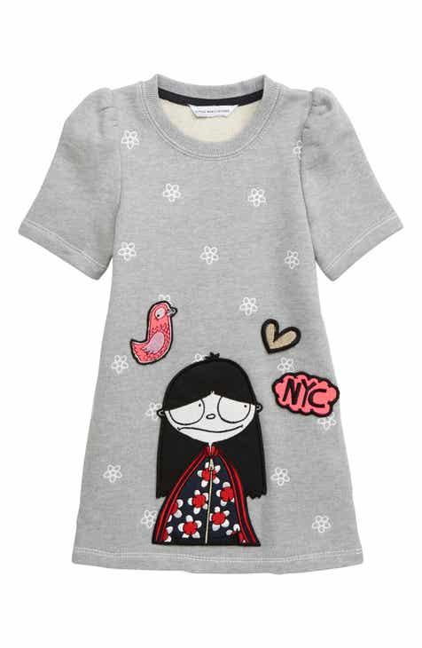 1a1cbcf979a LITTLE MARC JACOBS Miss Marc Shift Dress (Toddler Girls