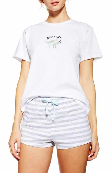Topshop Aroarable Short Pajamas by TOPSHOP