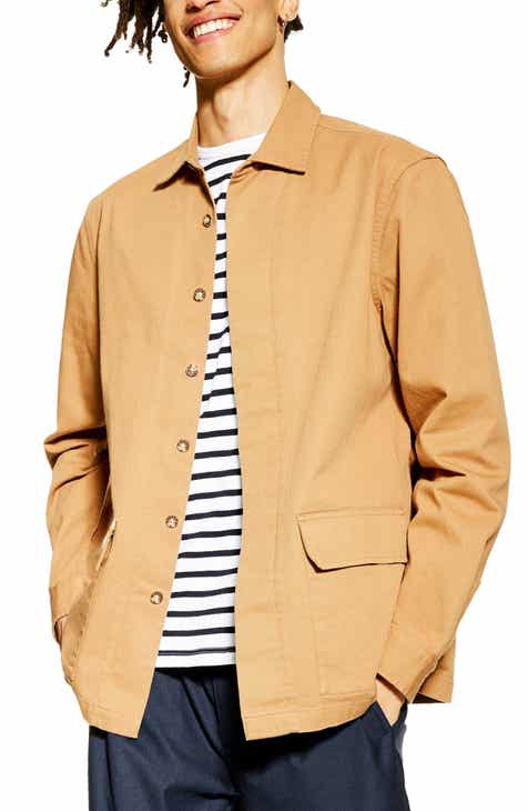 910369617f110b Topman Pocket Shirt Jacket