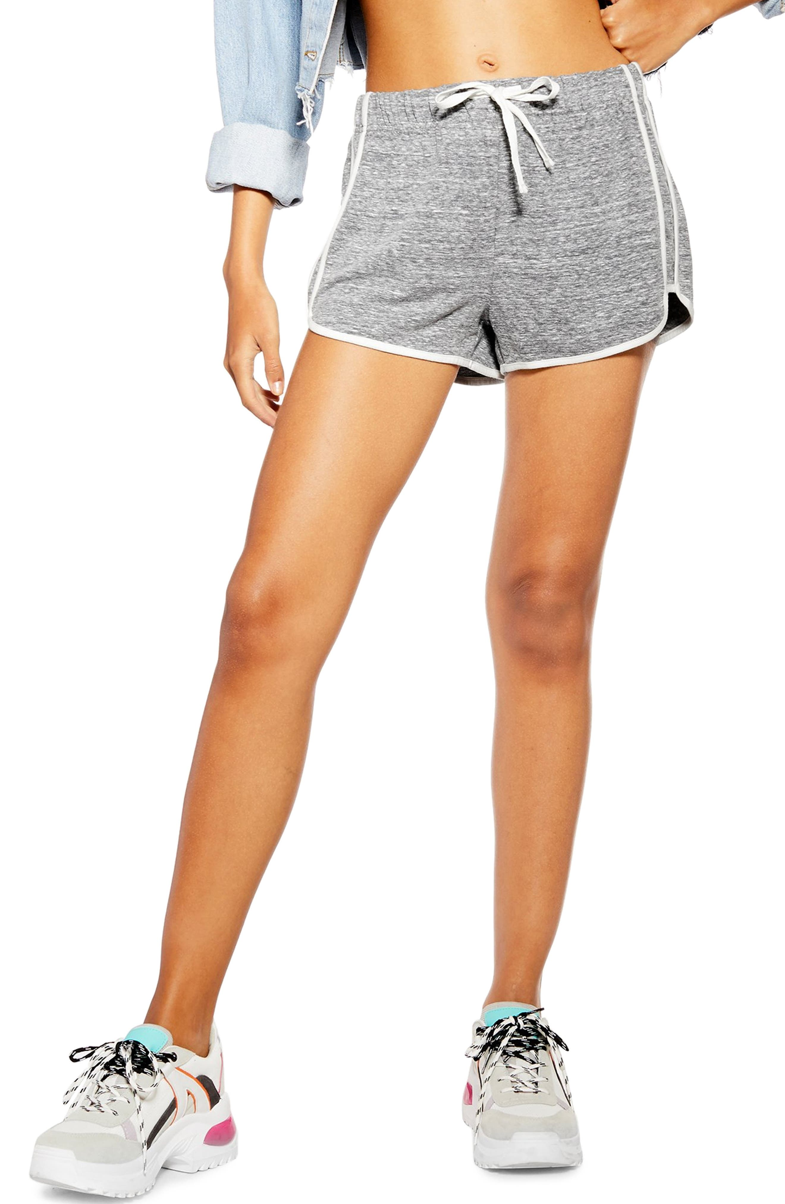 Topshop Waffle Weave Runner Shorts Discount