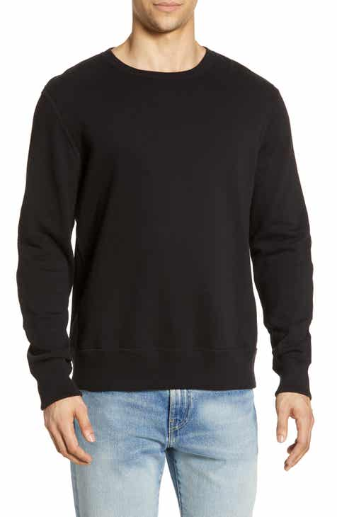 331b4c71 Billy Reid Dover Suede Patch Sweatshirt