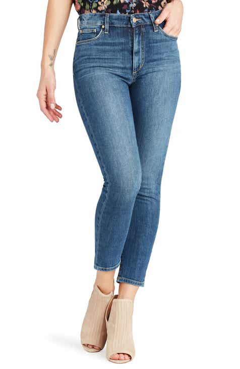 Joe's Charlie High Waist Crop Skinny Jeans (Mallory) by JOES