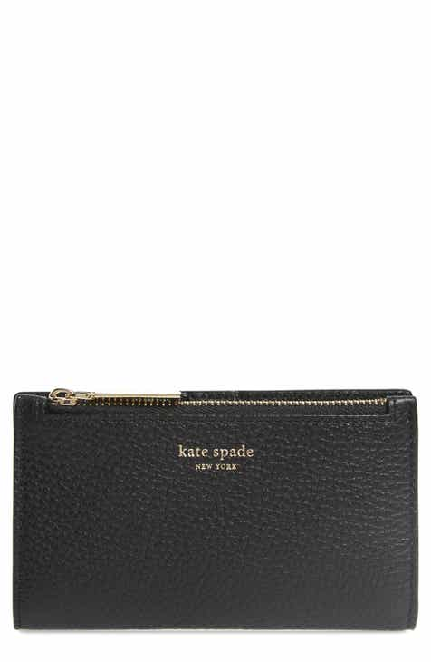 ffac88067b9 kate spade new york shirley leather slim bifold wallet