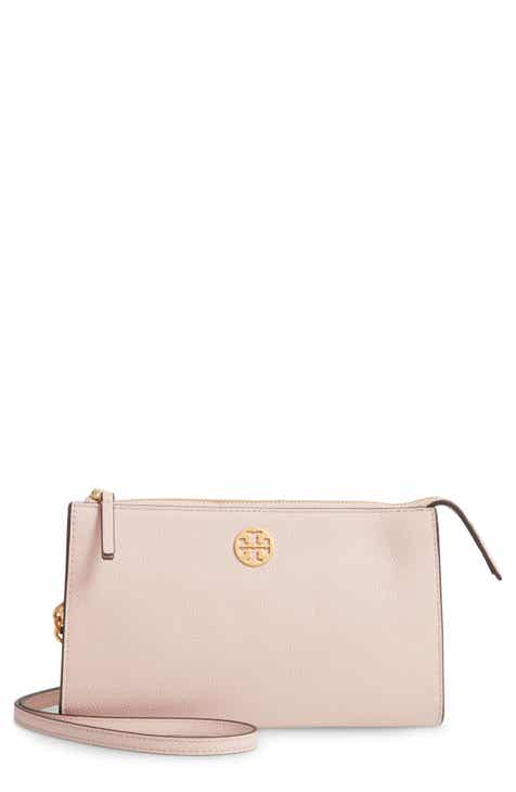432783ad2d1a3 Tory Burch Mini Everly Leather Crossbody Bag. Sale:$165.90