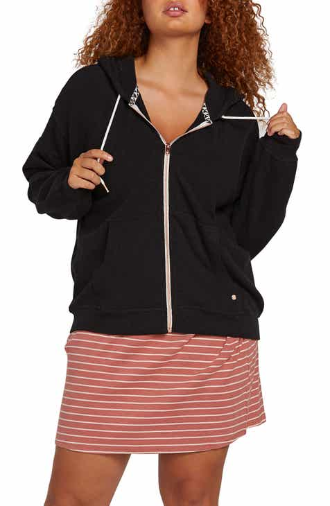 Volcom Lil Zip Fleece Hoodie (Plus Size)