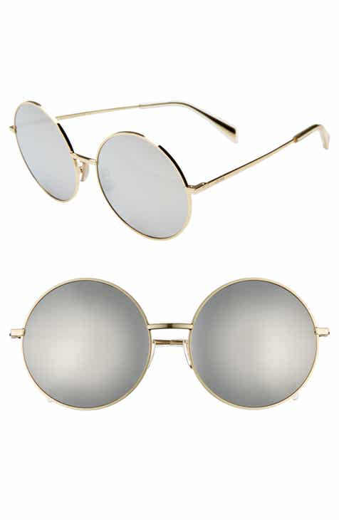 bd11104f89 CELINE 61mm Round Sunglasses