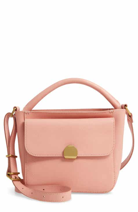 5fe4c09b8c41 Madewell The Mini Abroad Leather Crossbody Bag