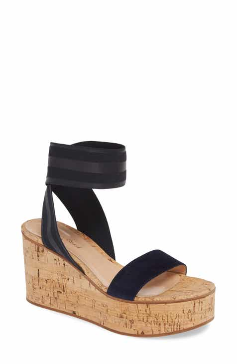 9d8840c992d Gianvito Rossi Cork Wedge Sandal (Women)