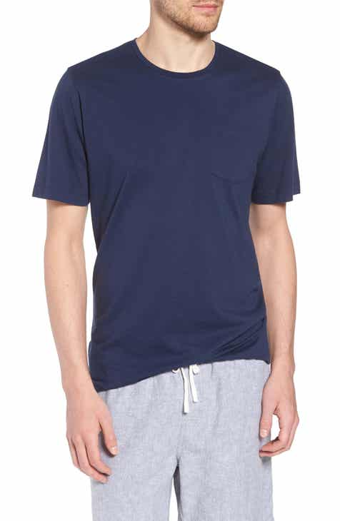 012725dd 1901 Brushed Pima Cotton Slim Fit T-Shirt