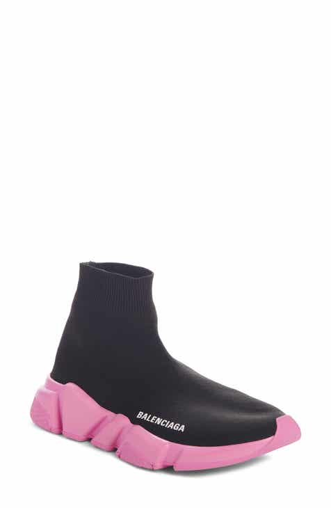 6e5abe92321 Balenciaga Mid Speed Lace-Up Sneaker (Women)