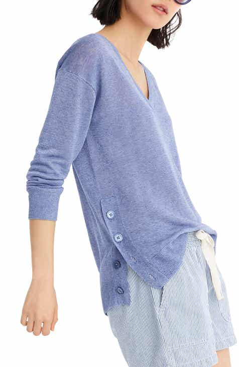 Halogen® Tie Waist Cardigan (Regular, Petite & Plus Size) by HALOGEN