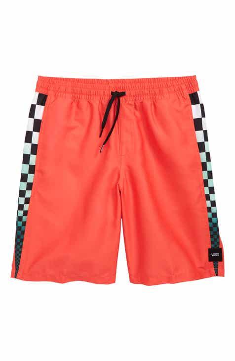 260a7cb644 Vans Decksider Volley Shorts (Big Boys)