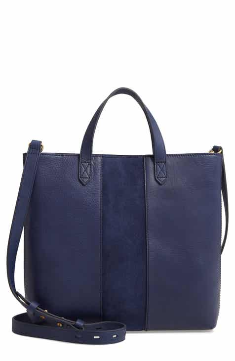 a8e69ab6c Madewell Small Transport Leather Crossbody Tote