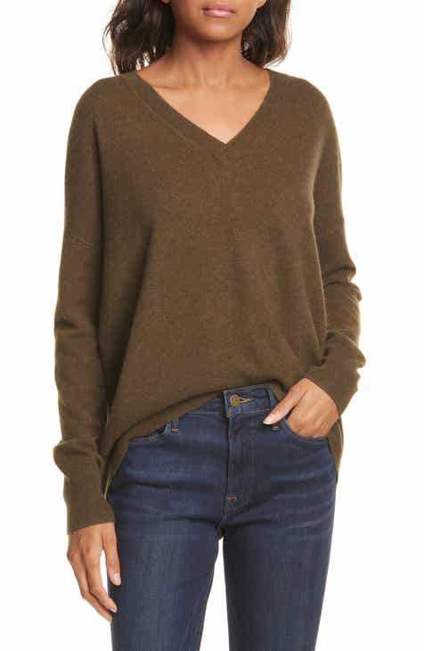 339c305fa1630a Nordstrom Signature High/Low Cashmere Sweater