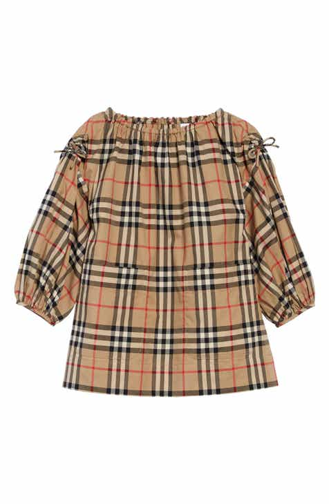 3c1797fd27 Burberry Alenka Check Dress (Toddler Girls)