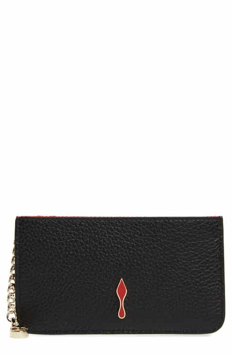 38283588db20 Christian Louboutin Wallets & Card Cases for Women | Nordstrom