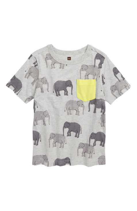 172a01054b9277 Tea Collection Print Pocket T-Shirt (Toddler Boys   Little Boys)