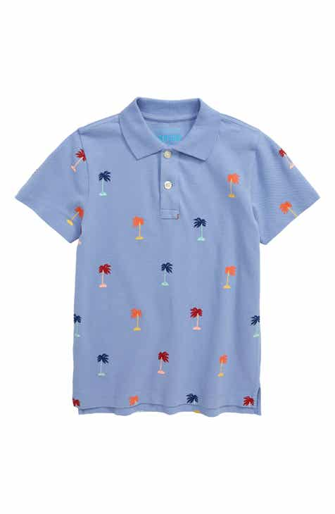e520a814b crewcuts by J.Crew Palm Trees Polo (Toddler Boys, Little Boys & Big Boys)