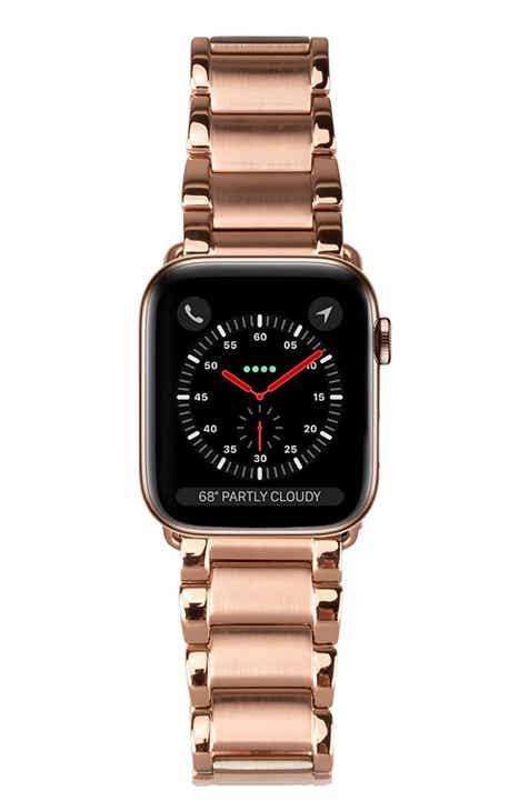 c50bd9cf78f6 Casetify Metal Link Apple Watch Bracelet Strap