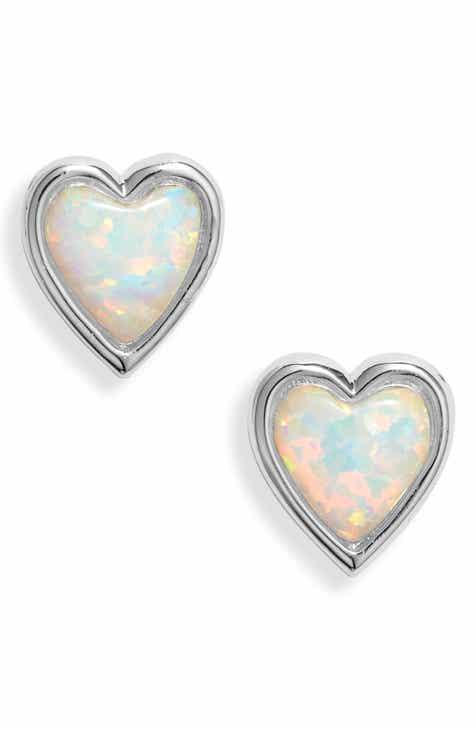 43b8142ef Melinda Maria Cadence Heart Stud Earrings