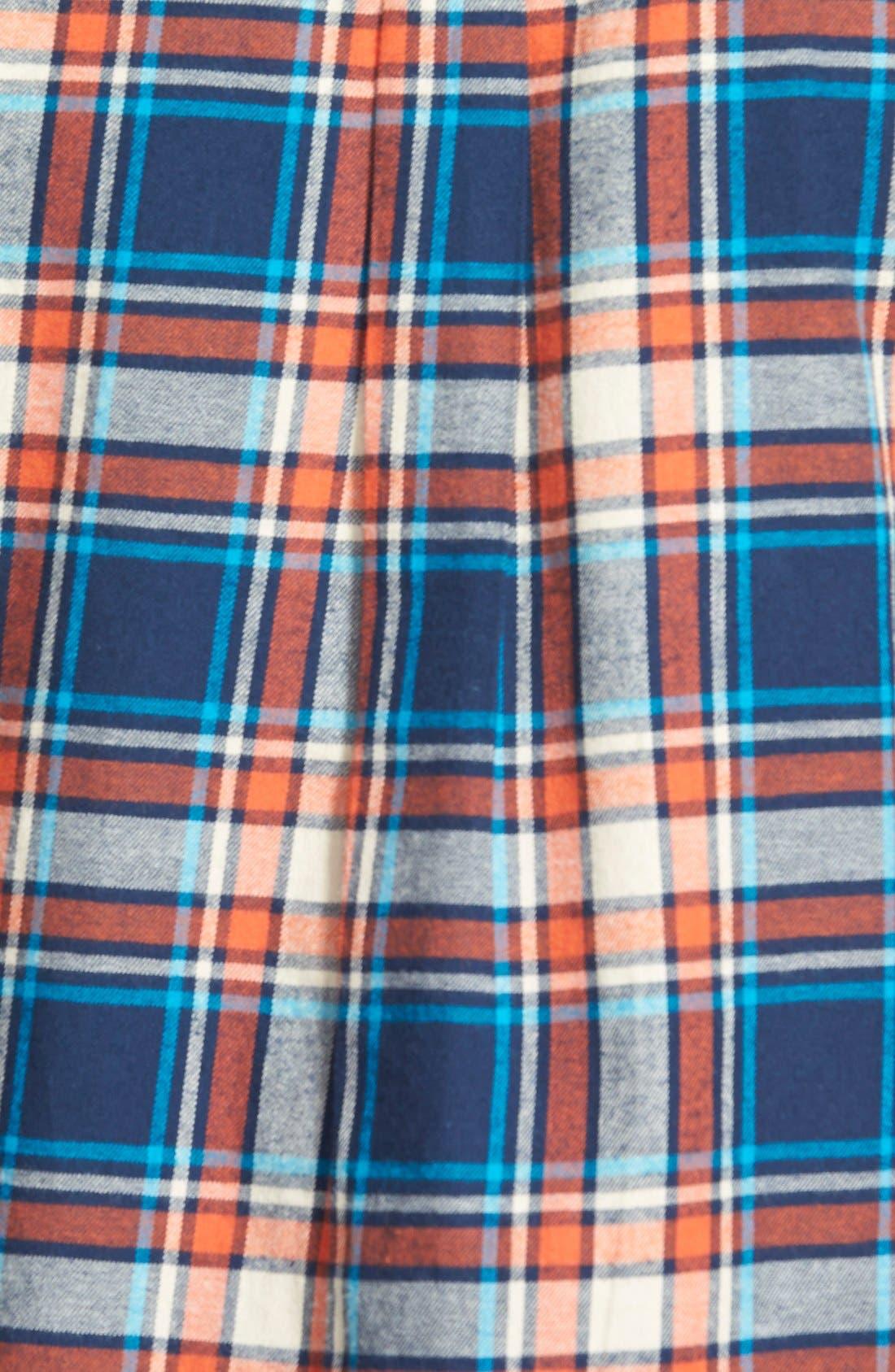 Alternate Image 3  - Sandra Plaid Cotton Flannel Boyfriend Shirt
