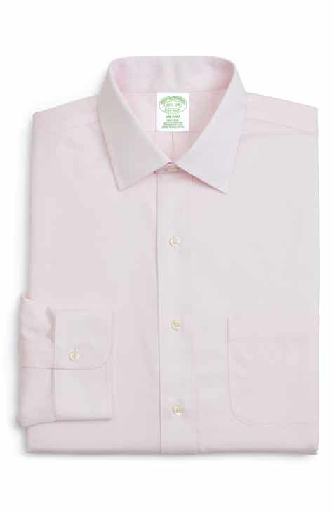 d16b1dde7cf9b2 Brooks Brothers Trim Fit Solid Dress Shirt (3 for $207)