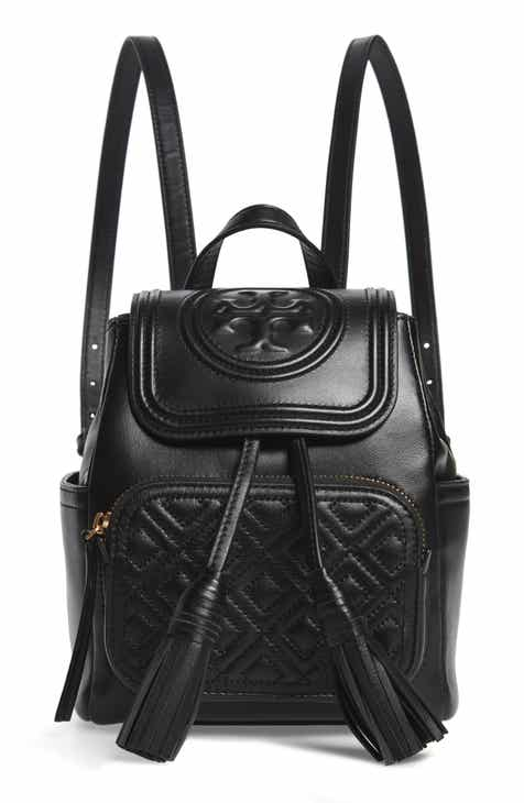 caba4539d11 Tory Burch Mini Fleming Leather Backpack