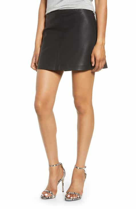 9869a26723 Women's Faux Leather Skirts | Nordstrom