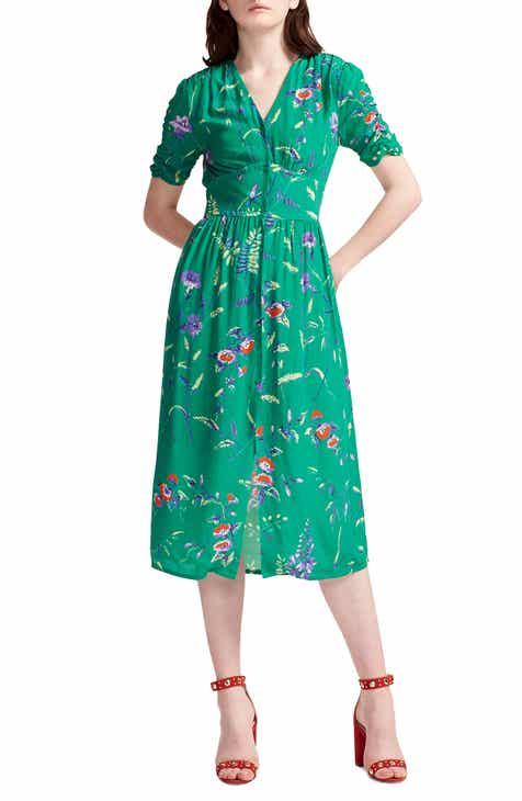 c20caa86ceea maje Rankol Floral Midi Dress