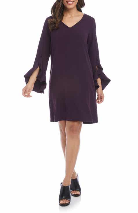 11a1367f7a5a Karen Kane Ruffle Sleeve Dress