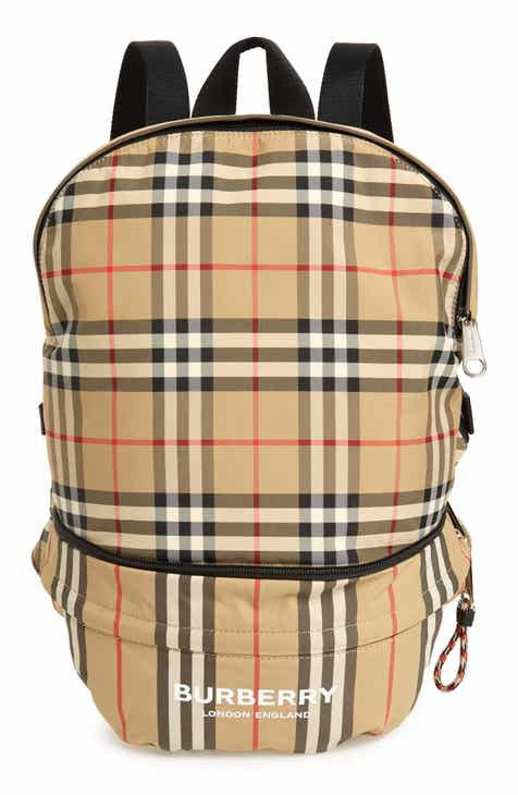 dcf6b68e Burberry Rex Archive Check Convertible Belt Bag (Kids)