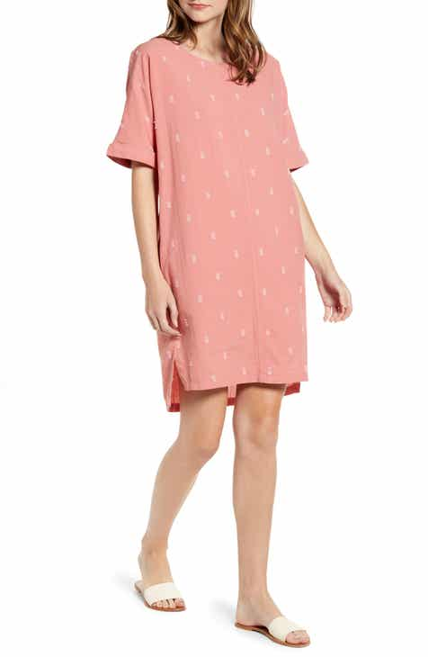 Caslon® Jacquard Shift Dress by CASLON