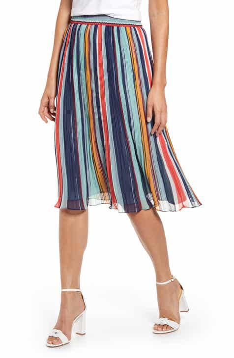 33c59e494f Halogen® Pleated Chiffon Skirt (Regular & Petite)