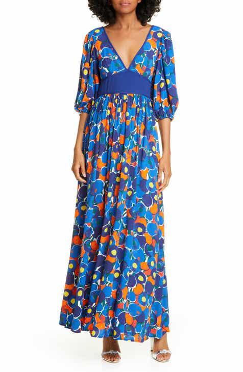 bcdccce965 STAUD Affogato Print Maxi Dress