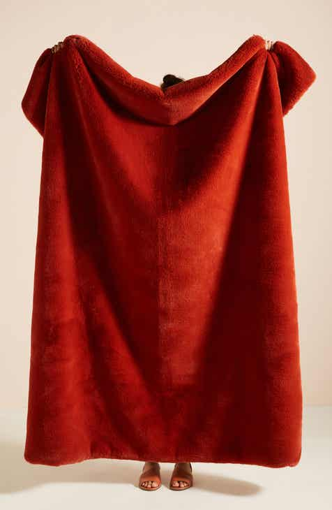Red Blankets & Throws | Nordstrom