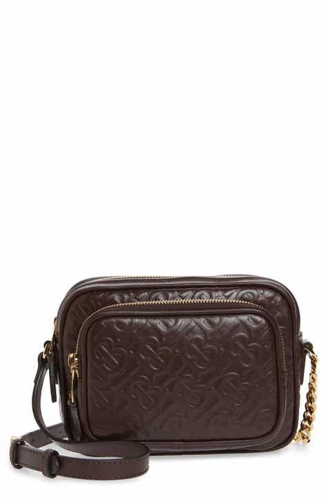 d33775614a Burberry Small TB Monogram Leather Camera Bag
