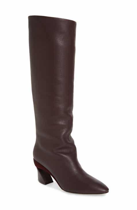 7e72db33becb Salvatore Ferragamo Antea Slouchy Knee High Boot (Women)