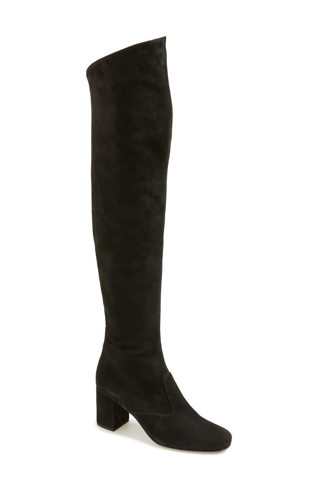 Alternate Image 1 Selected - Saint Laurent 'Babies' Over the Knee Boot (Women)
