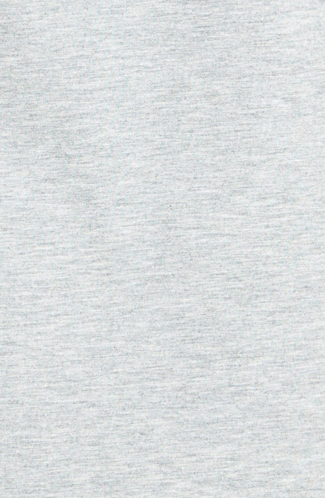 A-Line Turtleneck Dress,                             Alternate thumbnail 2, color,                             Grey Medium Heather