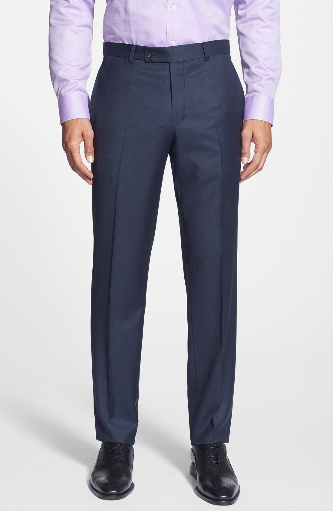 Alternate Image 5  - Ted Baker London Jones Trim Fit Solid Wool Suit
